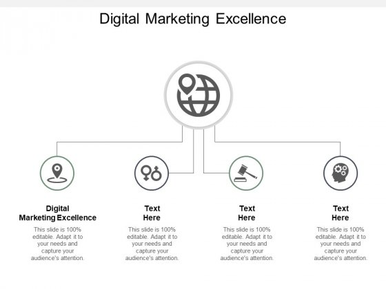 Digital Marketing Excellence Ppt PowerPoint Presentation Slides Layout Ideas Cpb