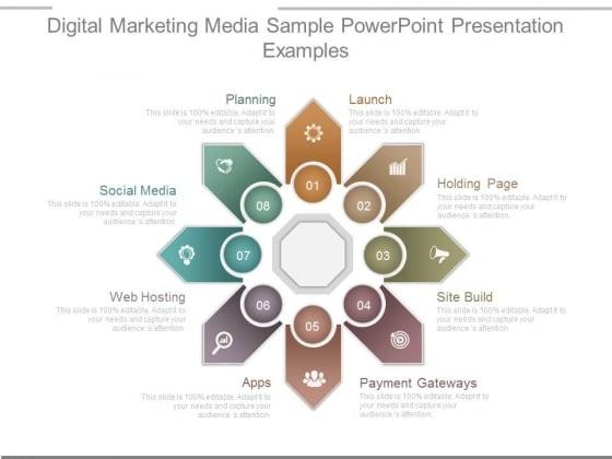 Digital Marketing Media Sample Powerpoint Presentation Examples