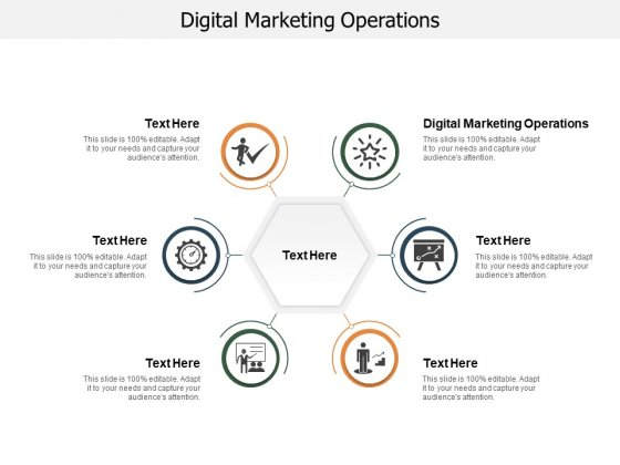 Digital Marketing Operations Ppt PowerPoint Presentation Outline Maker Cpb