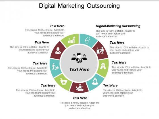 Digital Marketing Outsourcing Ppt PowerPoint Presentation Visual Aids Pictures Cpb