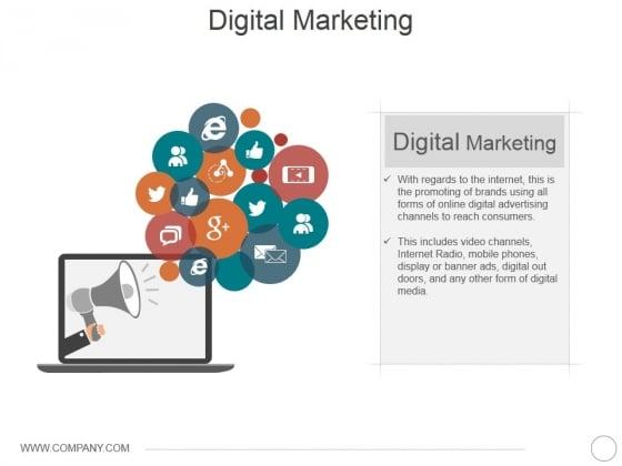 Digital Marketing Ppt Powerpoint Presentation Layouts Mockup Powerpoint Templates