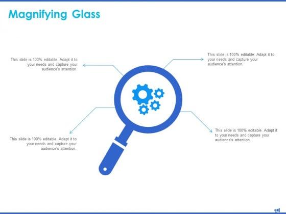 Digital Marketing Progress Report And Insights Magnifying Glass Editable Ppt Gallery Portfolio PDF