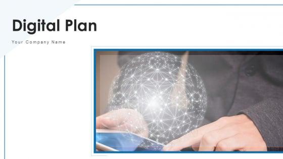 Digital Plan Marketing Objectives Ppt PowerPoint Presentation Complete Deck With Slides