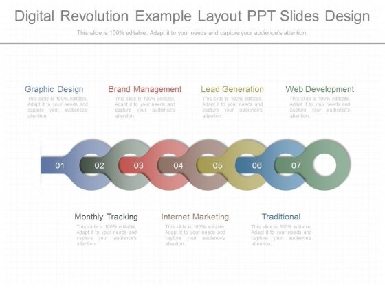 Digital Revolution Example Layout Ppt Slides Design