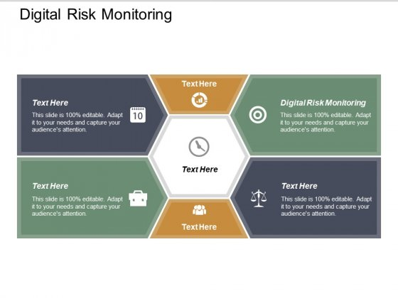 Digital Risk Monitoring Ppt PowerPoint Presentation Professional Graphics Design Cpb