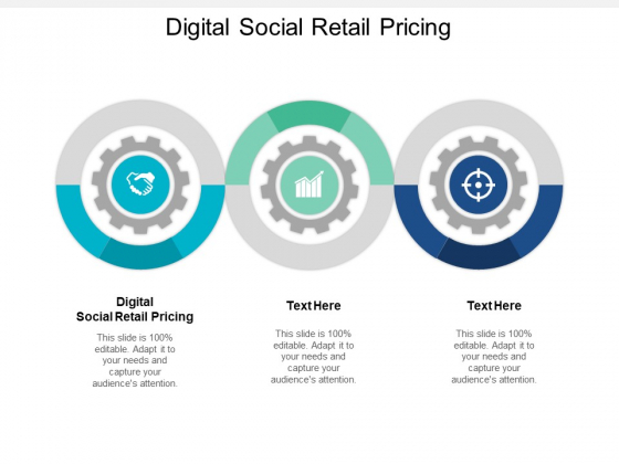 Digital Social Retail Pricing Ppt PowerPoint Presentation Layouts Templates Cpb
