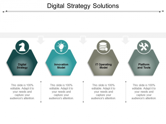 Digital Strategy Solutions Ppt Powerpoint Presentation Outline Background Images