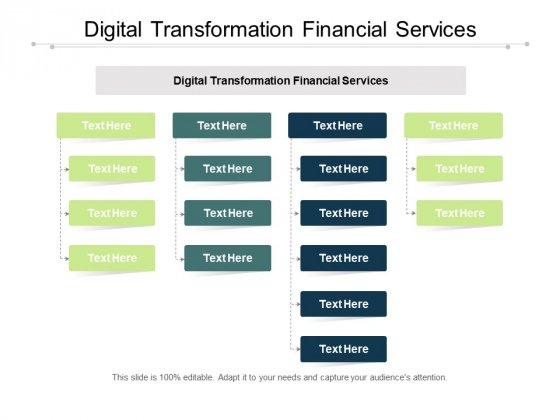Digital Transformation Financial Services Ppt PowerPoint Presentation Styles Layout Ideas Cpb Pdf