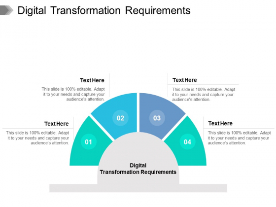 Digital Transformation Requirements Ppt PowerPoint Presentation Gallery Backgrounds Cpb Pdf