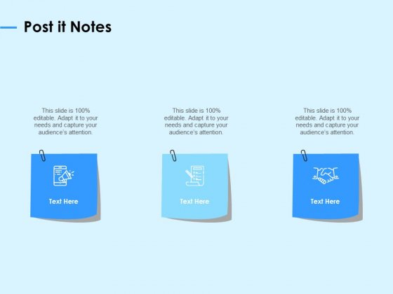 Digital Transformation Strategies Post It Notes Ppt Professional Graphics Example PDF