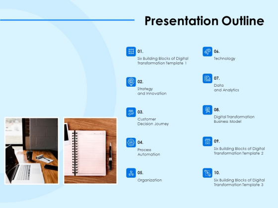 Digital Transformation Strategies Presentation Outline Ppt File Graphics Template PDF