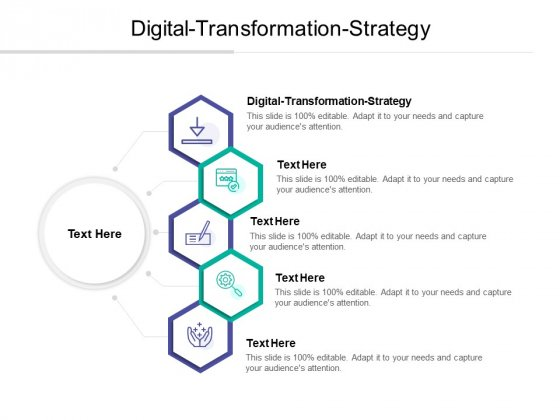 Digital Transformation Strategy Ppt PowerPoint Presentation Styles Graphics Download Cpb