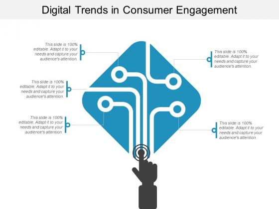 Digital Trends In Consumer Engagement Ppt PowerPoint Presentation Portfolio Skills