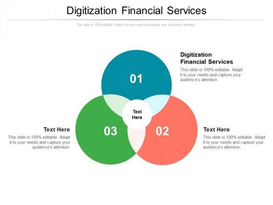 Digitization Financial Services Ppt PowerPoint Presentation Professional Background Cpb Pdf