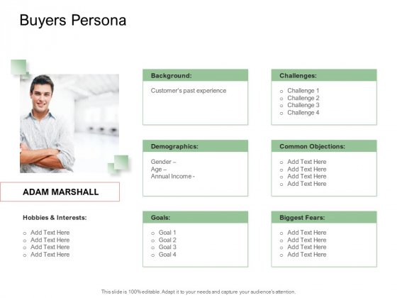 Digitization Of Client Onboarding Buyers Persona Ppt Styles Graphics PDF