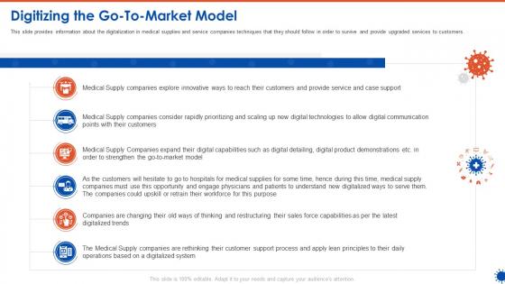 Digitizing The Go To Market Model Introduction PDF