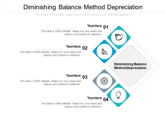 Diminishing Balance Method Depreciation Ppt PowerPoint Presentation Styles Designs Cpb Pdf