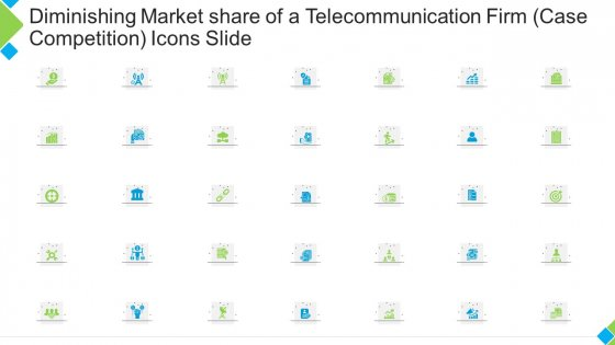 Diminishing Market Share Of A Telecommunication Firm Case Competition Icons Slide Professional PDF