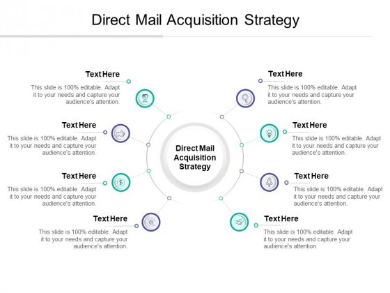 Direct Mail Acquisition Strategy Ppt PowerPoint Presentation Icon Visuals Cpb