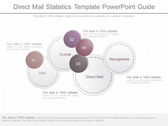 Direct Mail Statistics Template Powerpoint Guide