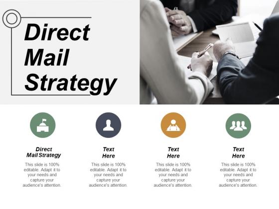 Direct Mail Strategy Ppt PowerPoint Presentation Ideas Portfolio Cpb
