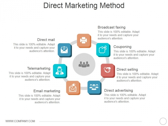 Direct Marketing Method Ppt PowerPoint Presentation Summary Graphics