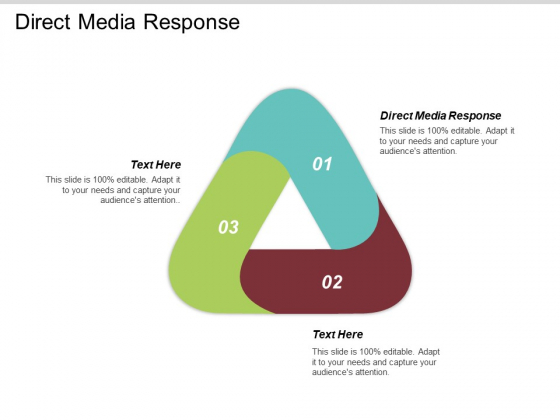 Direct Media Response Ppt PowerPoint Presentation Show Graphics Cpb