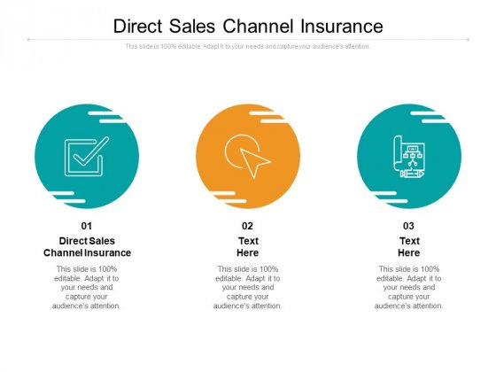 Direct Sales Channel Insurance Ppt PowerPoint Presentation Gallery Layouts Cpb