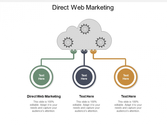 Direct Web Marketing Ppt PowerPoint Presentation Summary Clipart Cpb