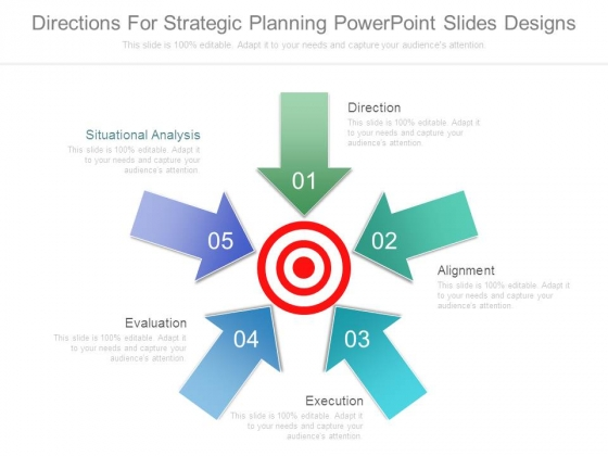Directions For Strategic Planning Powerpoint Slides Designs