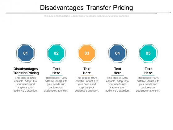Disadvantages Transfer Pricing Ppt PowerPoint Presentation Slides Objects Cpb Pdf