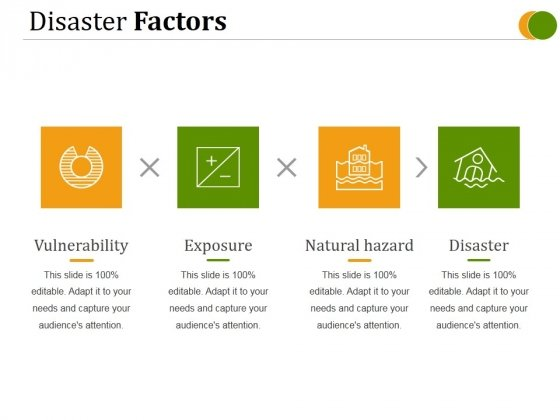 Disaster Factors Ppt PowerPoint Presentation Graphics