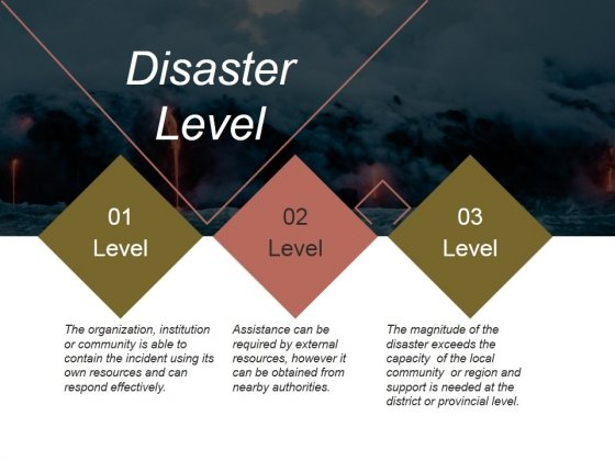Disaster Level Ppt PowerPoint Presentation Templates