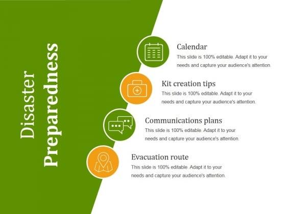 Disaster Preparedness Ppt PowerPoint Presentation Templates