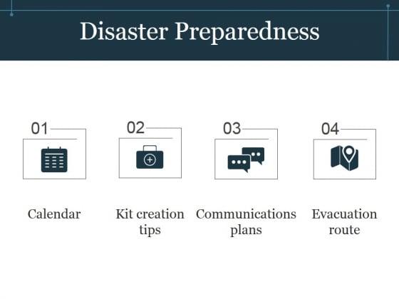 Disaster Preparedness Template 1 Ppt PowerPoint Presentation Example 2015
