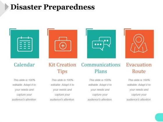 Disaster Preparedness Template 2 Ppt PowerPoint Presentation Outline