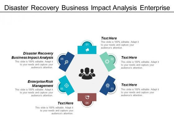 Disaster Recovery Business Impact Analysis Enterprise Risk Management Ppt PowerPoint Presentation Slides Outfit
