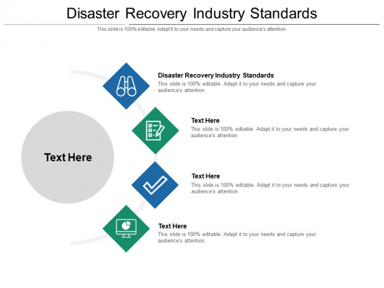 Disaster Recovery Industry Standards Ppt PowerPoint Presentation Portfolio Slideshow Cpb Pdf