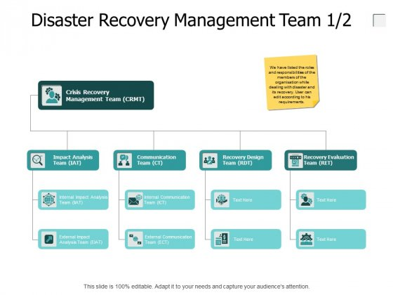 Disaster Recovery Management Team Technology Ppt PowerPoint Presentation File Professional