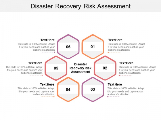 Disaster Recovery Risk Assessment Ppt PowerPoint Presentation Infographics Visuals Cpb