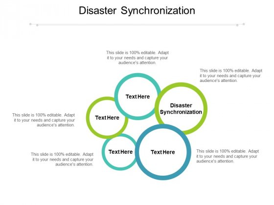 Disaster Synchronization Ppt PowerPoint Presentation Summary Pictures Cpb
