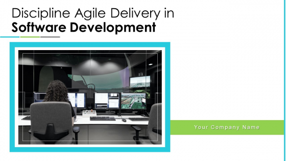 Discipline Agile Delivery In Software Development Ppt PowerPoint Presentation Complete Deck With Slides