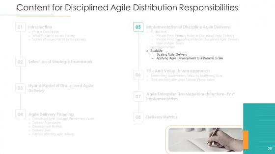 Disciplined_Agile_Distribution_Responsibilities_Ppt_PowerPoint_Presentation_Complete_Deck_With_Slides_Slide_26
