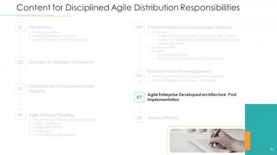 Disciplined_Agile_Distribution_Responsibilities_Ppt_PowerPoint_Presentation_Complete_Deck_With_Slides_Slide_33