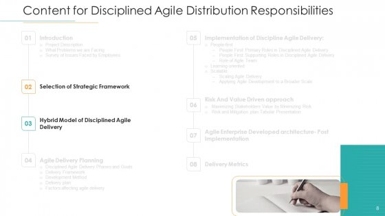 Disciplined_Agile_Distribution_Responsibilities_Ppt_PowerPoint_Presentation_Complete_Deck_With_Slides_Slide_8