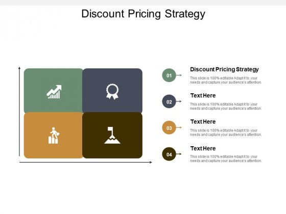 Discount Pricing Strategy Ppt PowerPoint Presentation Pictures Designs Download Cpb