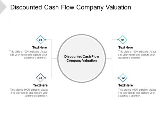 Discounted Cash Flow Company Valuation Ppt PowerPoint Presentation Styles Format Cpb Pdf