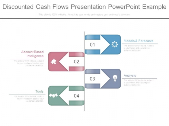 discounted cash flows presentation powerpoint example powerpoint