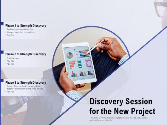 Discovery Session For The New Project Ppt PowerPoint Presentation Ideas Skills PDF
