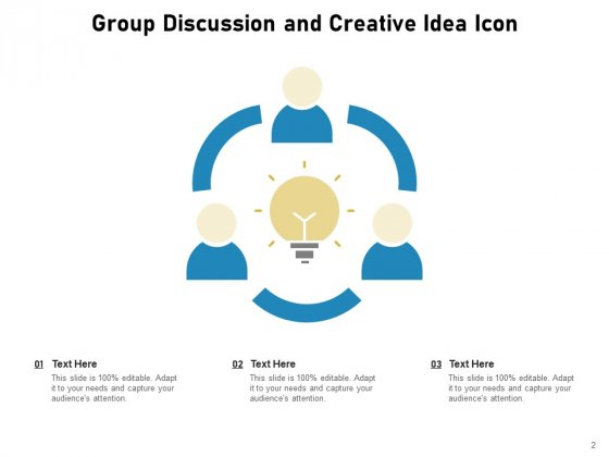 Discussion_Group_Meeting_Idea_Icon_Communication_Circle_Ppt_PowerPoint_Presentation_Complete_Deck_Slide_2